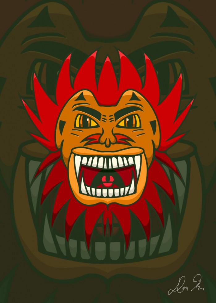 Leo The Spirit Mask