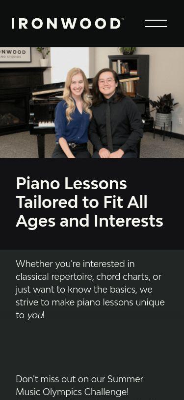 Ironwood Piano Studios