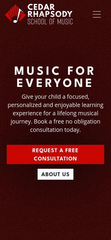 Cedar Rhapsody School of Music